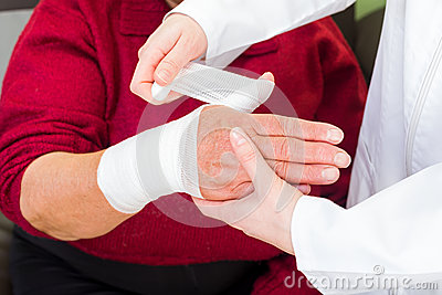 Thumb bandaging