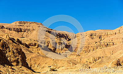 Landscape of the Valley of the Kings