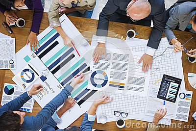 Business People Meeting Corporate Analysis Research Concept