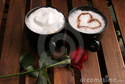 Two Romantic Coffees