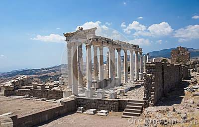 The Sanctuary of Trajan, Pergamon, Turkey