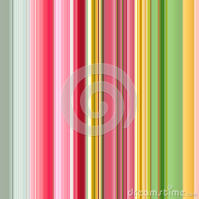 Spring colors lined wallpaper. Abstract strips background. Seamless pattern