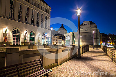 Luxembourg city administrative center
