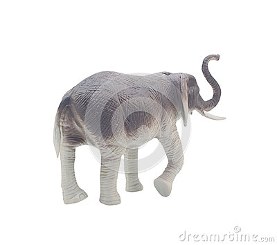 Elephant toy back.
