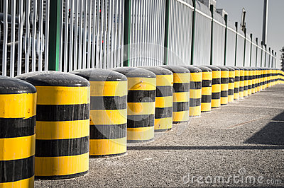 Cylindrical traffic cones