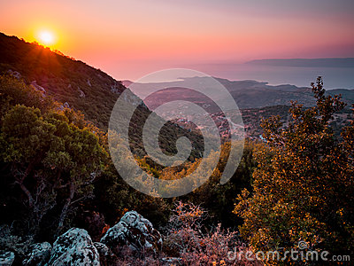 Sunset on Lesbos