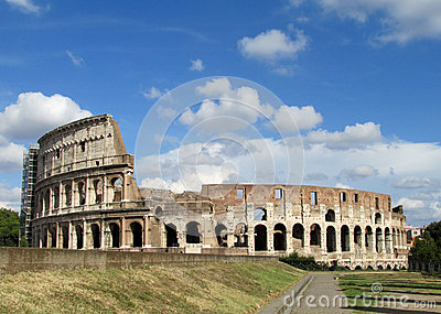 The Colosseum, Coliseum in Rome