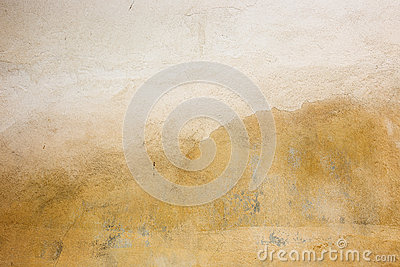 Old painted rusty wall