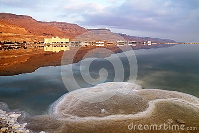 Morning on the Dead Sea