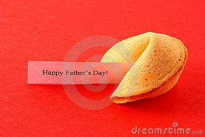 Fortune Cookie on Red