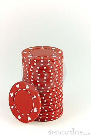 Poker Chips - Red