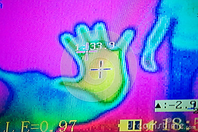 Picture of thermal imager