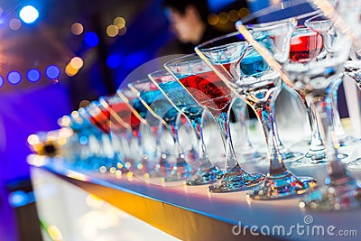 stock image of cocktail drinks