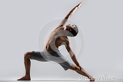 Yoga Reverse Warrior Pose