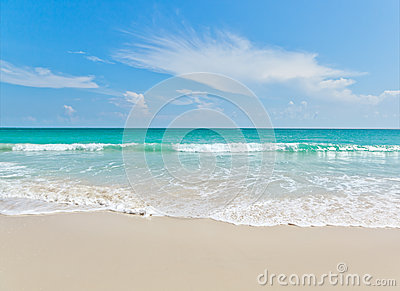 Sea beach blue sky sand sun daylight relaxation landscape viewpo