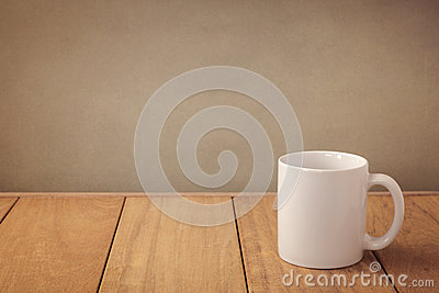 Coffee cup mock up template for logo design display