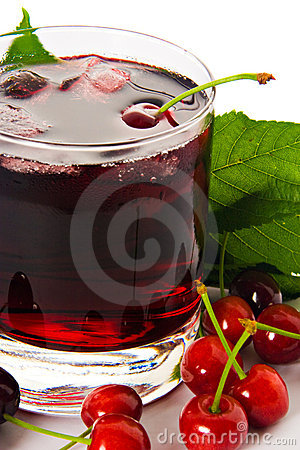 Red drink ank cherry