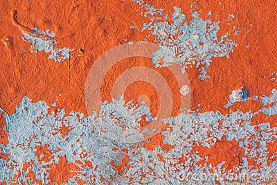 Orange and blue background texture