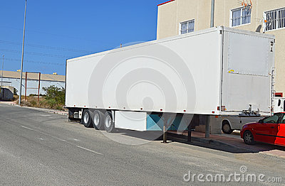 A Lorry Trailer