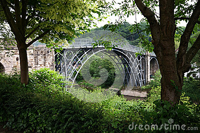 Ironbridge in Shropshire.