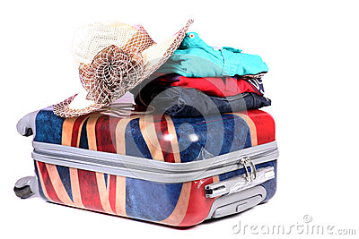 Travel baggage and clothes