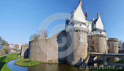 Castle of the Dukes of Brittany in Nantes