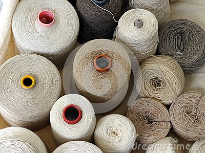 Reels of Natural Fibres, Milan