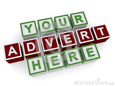 Your Advert Here on 3D Cubes