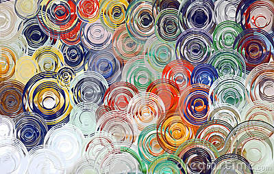 Abstract art swirl colorful background & Wallpaper