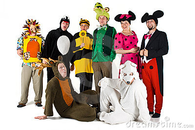 People in Costumes
