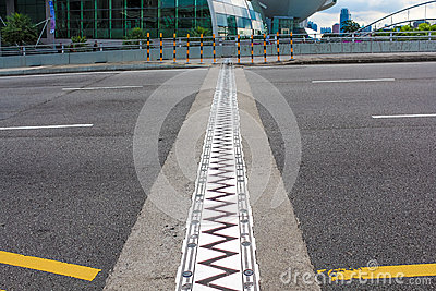 Expansion joint.