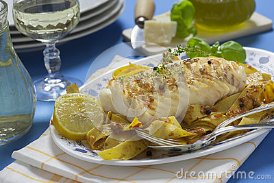 Grilled Cod Loin