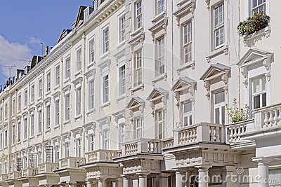 Georgian terraced town houses