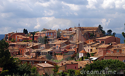 Roussillon in the Provence