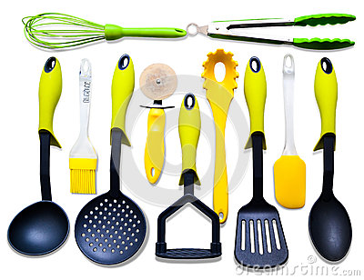 Kitchenware isolated