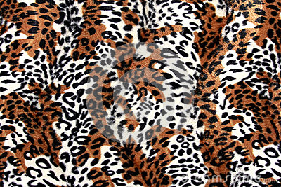 Beautiful tiger fur - colorful texture with orange, beige, and b