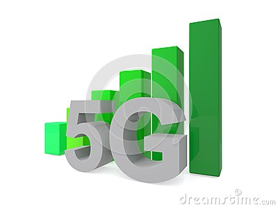 5G illustrated sign