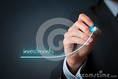 Investments increase