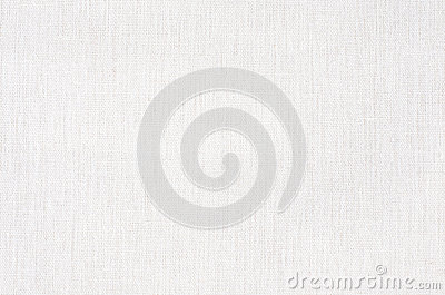White fabric texture or background, White Canvas