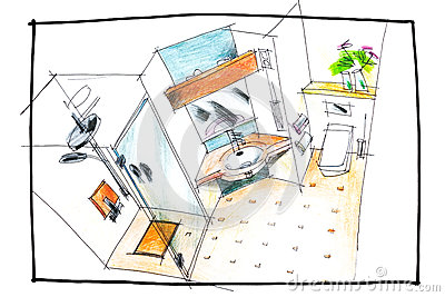 18205 as well Class C Rv Winnebago also Bathroom Top View Drawing Image56547943 in addition Floor Plans Elevations moreover Royalty Free Stock Photography Floor Plan Two Bed Condo Den Furniture Image16494037. on top view furniture floor plan