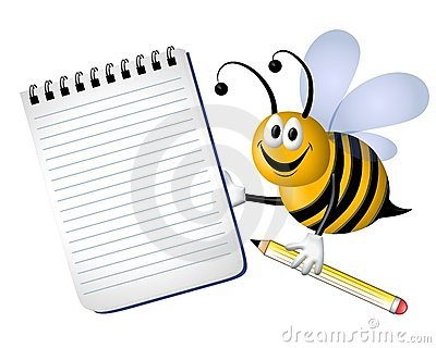 Busy Bumble Bee Notepad