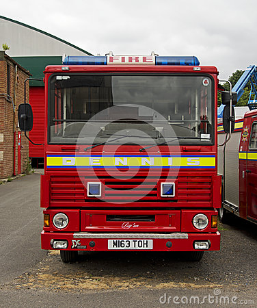 Classic Dennis DS Fire Engine