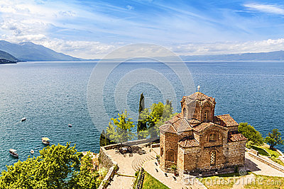 Jovan Kaneo Church, Lake Ohrid, Macedonia.