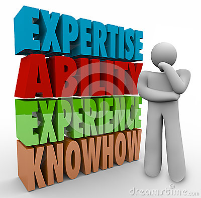 Expertise Ability Experience Knowhow Thinker Job Criteria qualifications