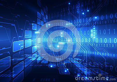 stock image of abstract vector hi speed internet technology background illustration