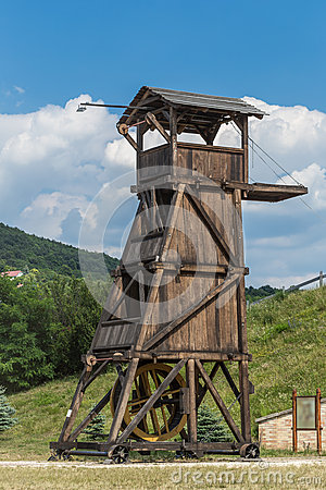Belfry or siege tower
