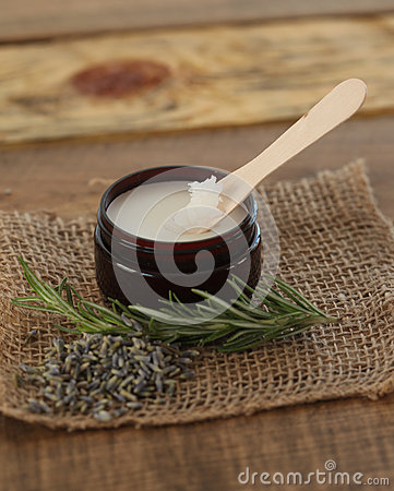 Jar of Herbal Beauty Salve