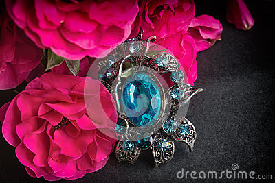 Red Rose and Pendant