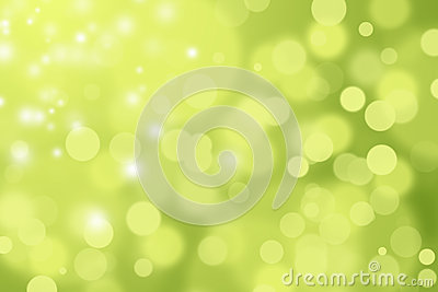 GREEN AND YELLOW DEFOCUSED BOKEH ABSTRACT BACKGROUND