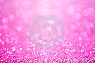 Pink Princess Baby Girl Birthday Background